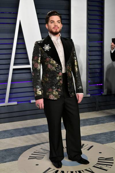 Adam Lambert is the winner of Most Stylish Men March 2019