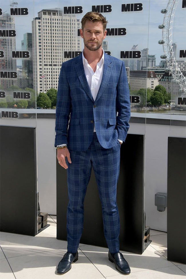 Chris Hemsworth is the winner of Most Stylish Men August 2019 again