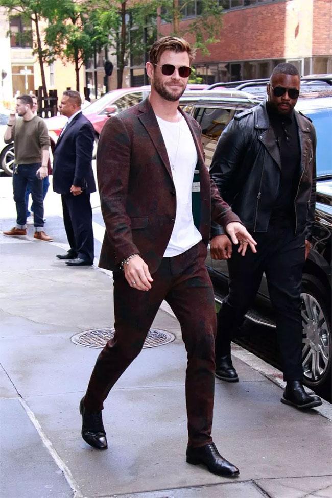 Chris Hemsworth is the winner of Most Stylish Men July 2019