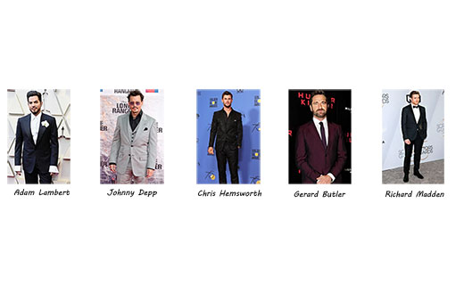 Adam Lambert is the winner of Most Stylish Men May 2019