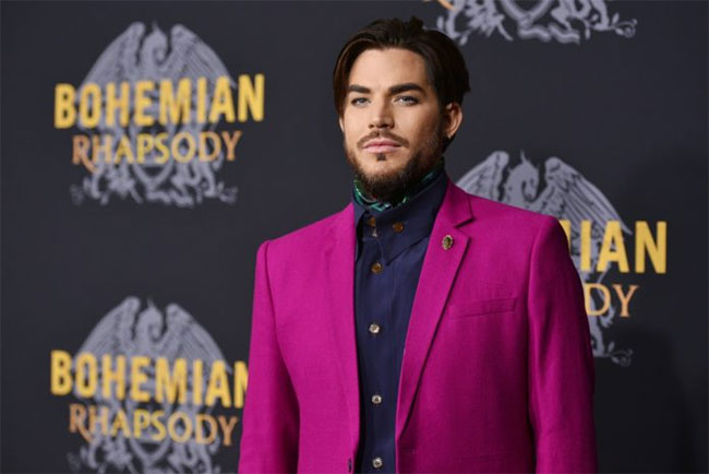 Adam Lambert is the winner of Most Stylish Men November 2019