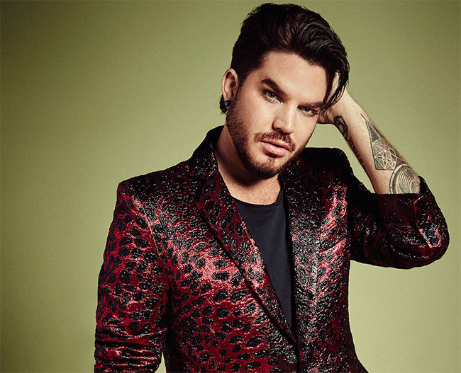 Adam Lambert is the winner of Most Stylish Men October 2019