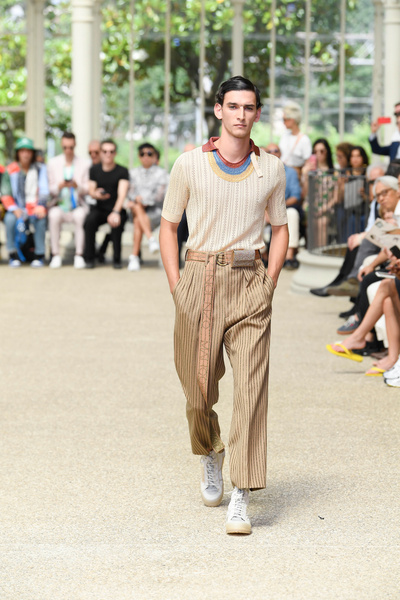 Marco De Vincenzo presented his first menswear collection at Pitti Uomo 96