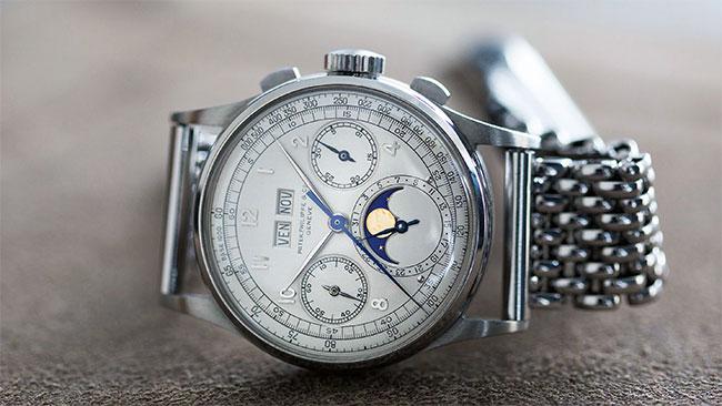 1518 in Steel by Patek Philippe