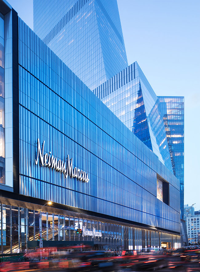 Neiman Marcus opens a multi retail experience at Hudson Yards in New York City
