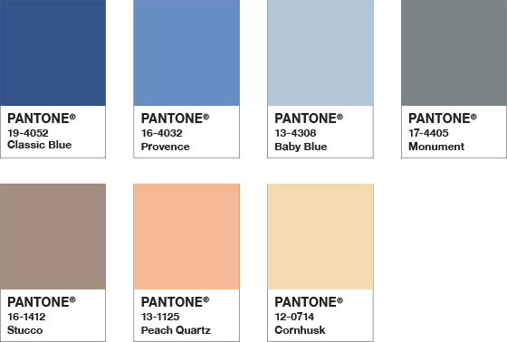 The Pantone Color of the Year 2020 - Classic Blue