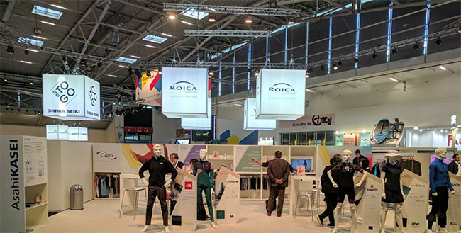 ROICA™ Premium Stretch Innovations for the Modern Wardrobe at ISPO Brandnew Village