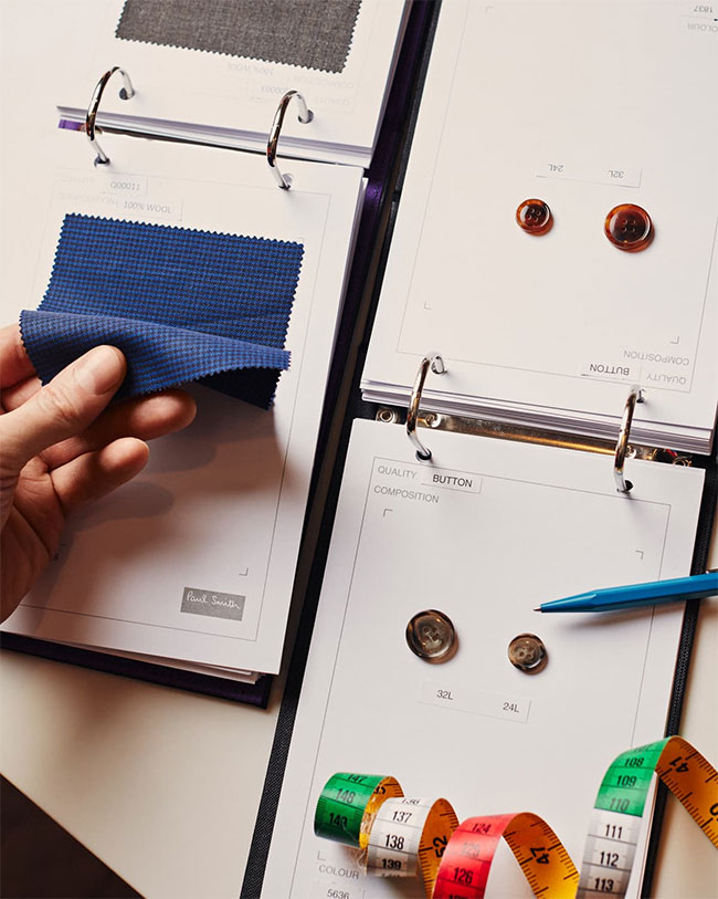 Paul Smith Made-to-measure service