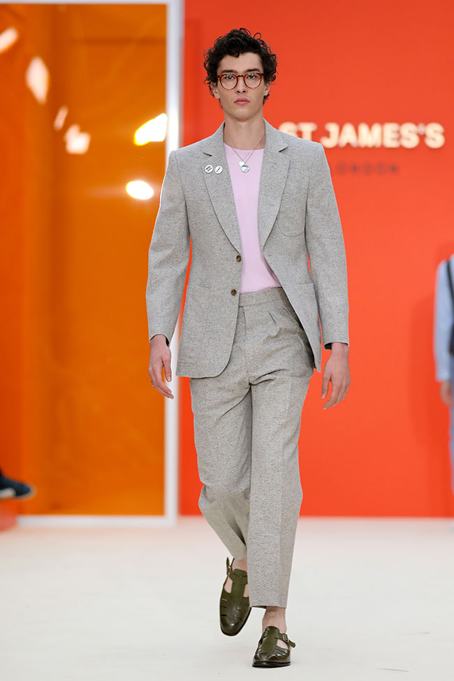 St James's played host to a series of fashion shows as Jermyn Street