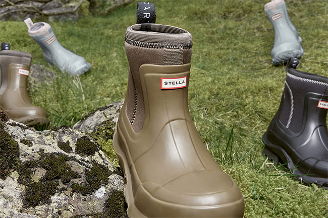 Stella x Hunter Boots with a collaboration