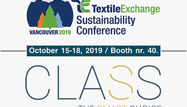 CLASS flies to Textile Exchange Sustainability Conference 2019 in Vancouver