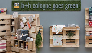The international trade fair for creative handicraft and hobby supplies h+h cologne 2019 goes green