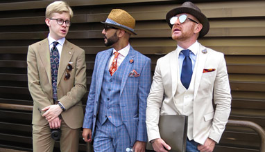 Fashion trends from Pitti Uomo: Colors