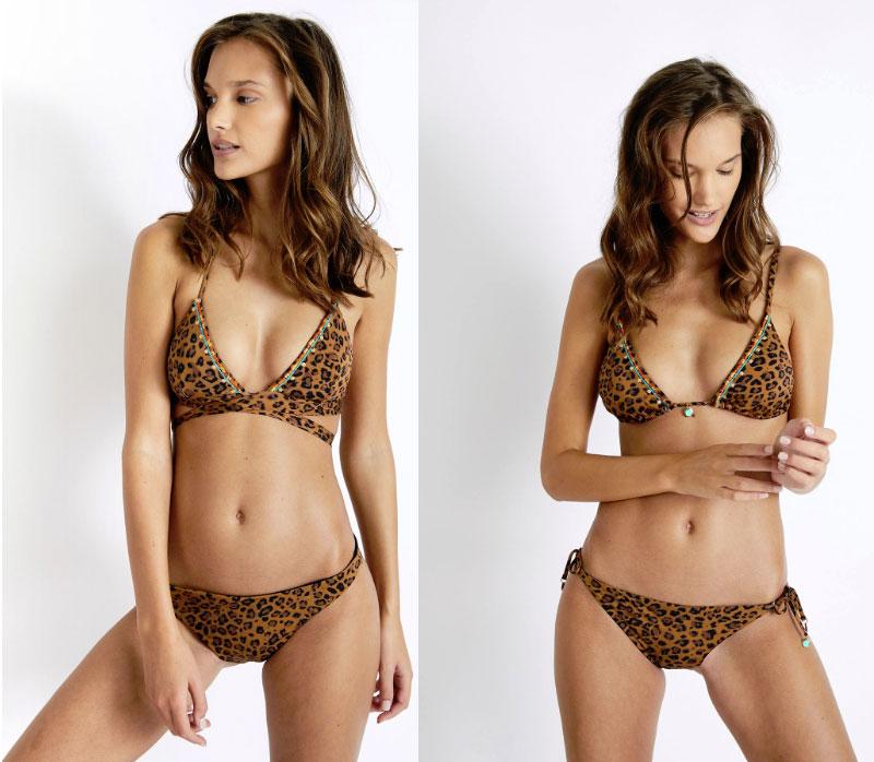 Leopard swimwear