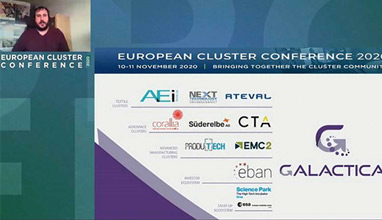 AEI Téxtils participated in the European Cluster Conference 2020