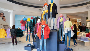 Fashion retailer Gap will close all company-owned stores in Europe
