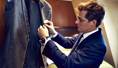 Henry Herbert Tailors are inshoring to honour the traditions�of British bespoke�tailoring