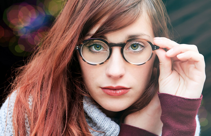 Match glasses with your outfit