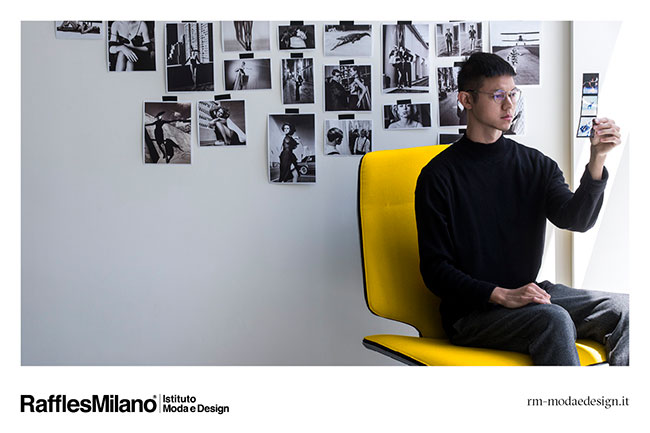 Win 1 of the 15 scholarships for the International Masters in Design and Fashion 2020/2021 from Raffles Milano