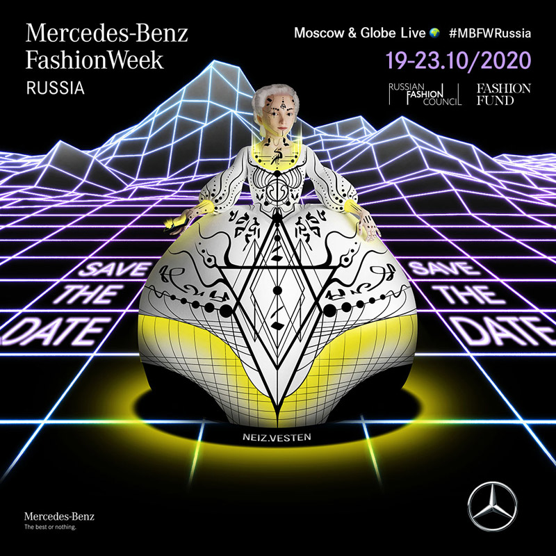 Save the date -Mercedes-Benz Fashion Week Russia