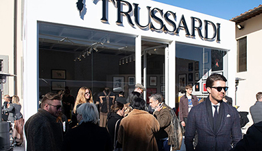 Trussardi porta le beautiful minds a Pitti Uomo