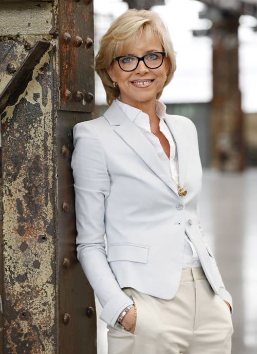 Ulrike Kähler, the Managing Director of Igedo Company