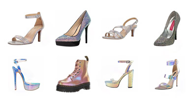 Latest Fashion Iridescent Heels Collection