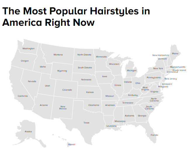 Most Popular Hairstyles in America