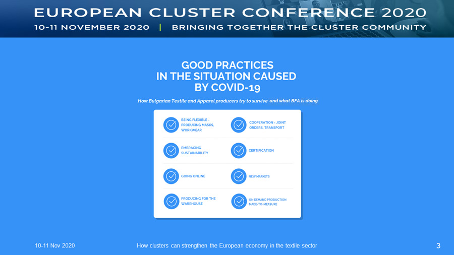 How clusters can strengthen the European economy in the textile sector