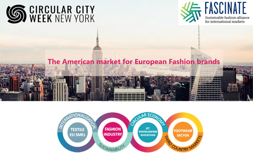 Internationalization Strategies for Sustainable Fashion and Textile Brands at Circular City Week New York