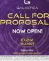 GALACTICA first call for proposals to support new value chains by European innovative SMEs