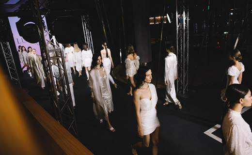 Mercedes-Benz Fashion Week Russia started with new designer collections, video games, and an interactive digital platform