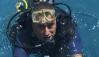 PR professional Atanas Lazarov talks about scuba diving in the Red Sea
