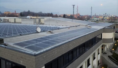Marchi & Fildi Group with a positive balance for 10 years of the photovoltaic installation