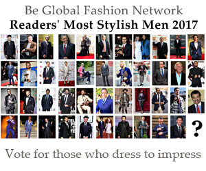 Vote for Most Stylish Men 2015
