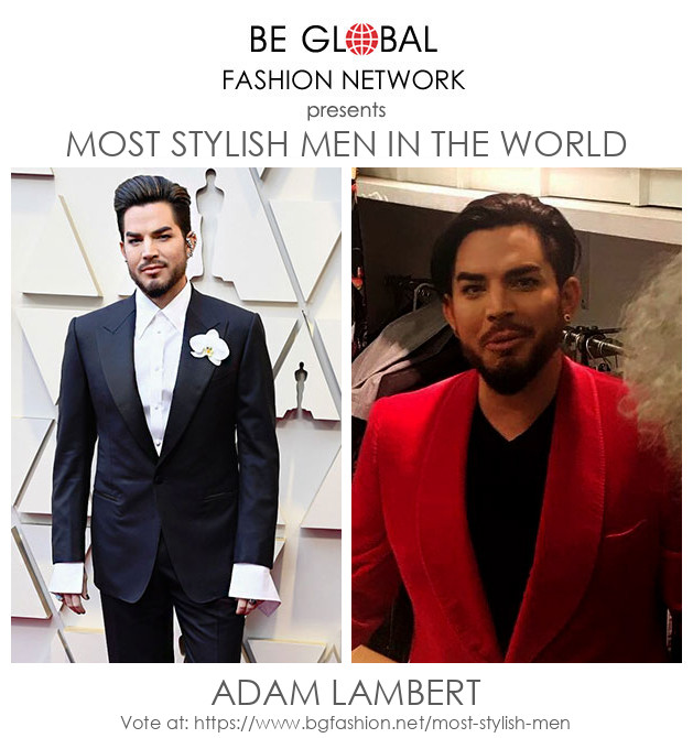 Vote for Adam Lambert 2020 | Most Stylish Men 2020