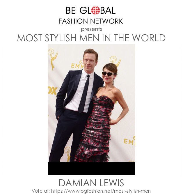 Vote for Damian Lewis 2020   Most Stylish Men 2020